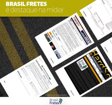 A Brasil Fretes é destaque na mídia especializada