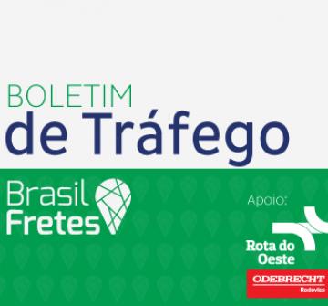 Boletim de Tráfego Brasil Fretes – 24/05/2016
